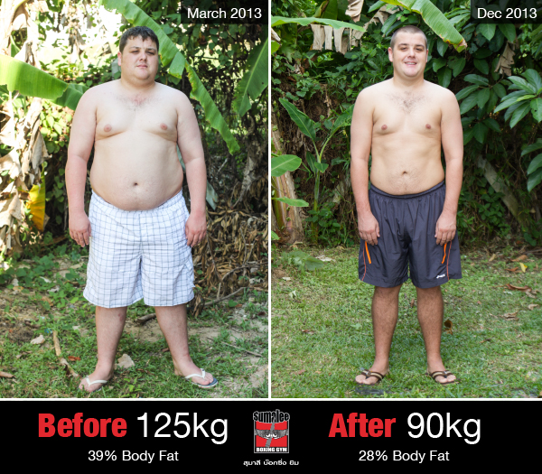 Sumalee Student Ross Connor hits the headlines after incredible weight loss!