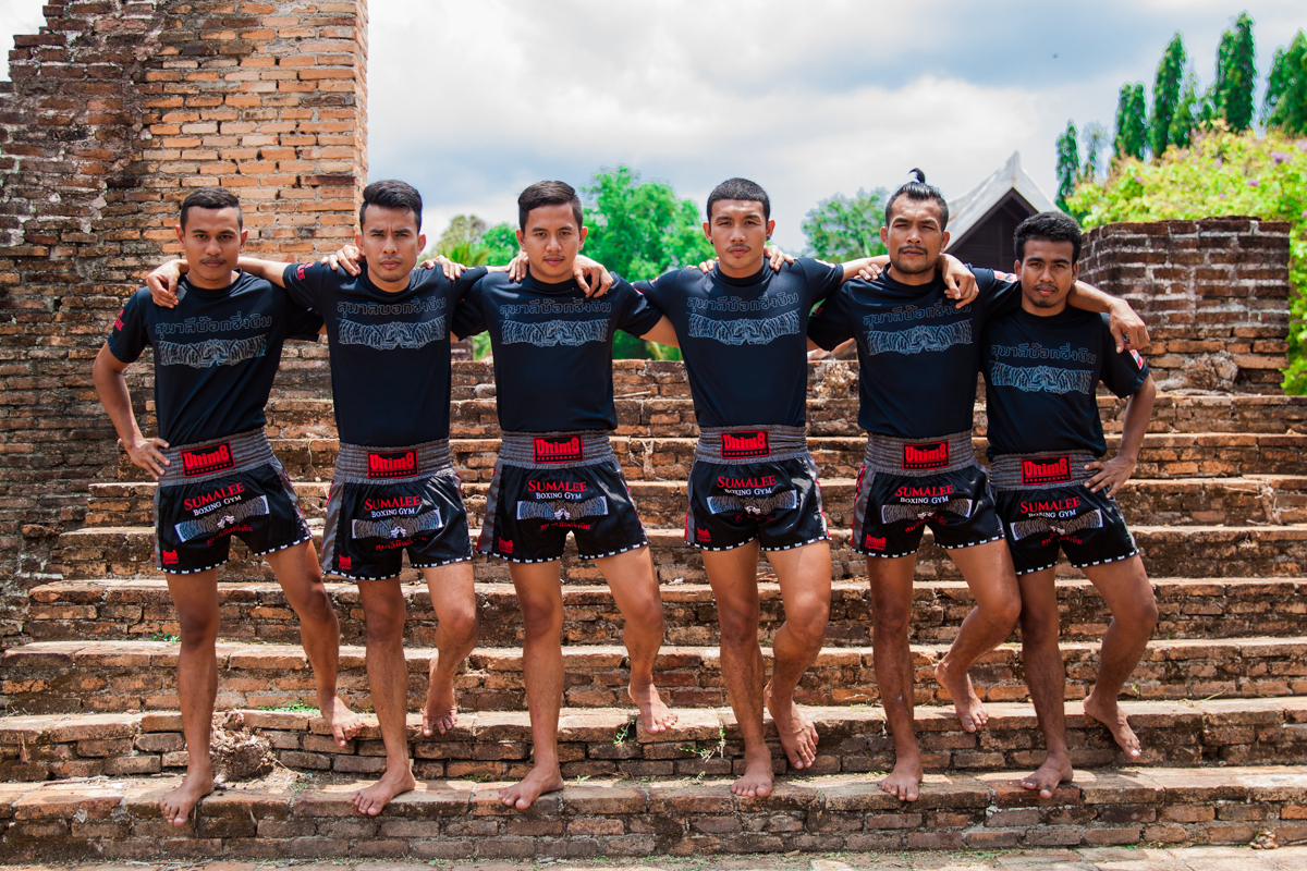Trainers at the Sumalee Muay Thai Training Camp