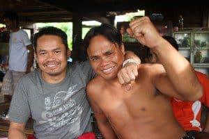 Lambang Sor Sumalee and his brother