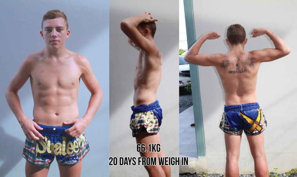 Jordan Coe - Making weight