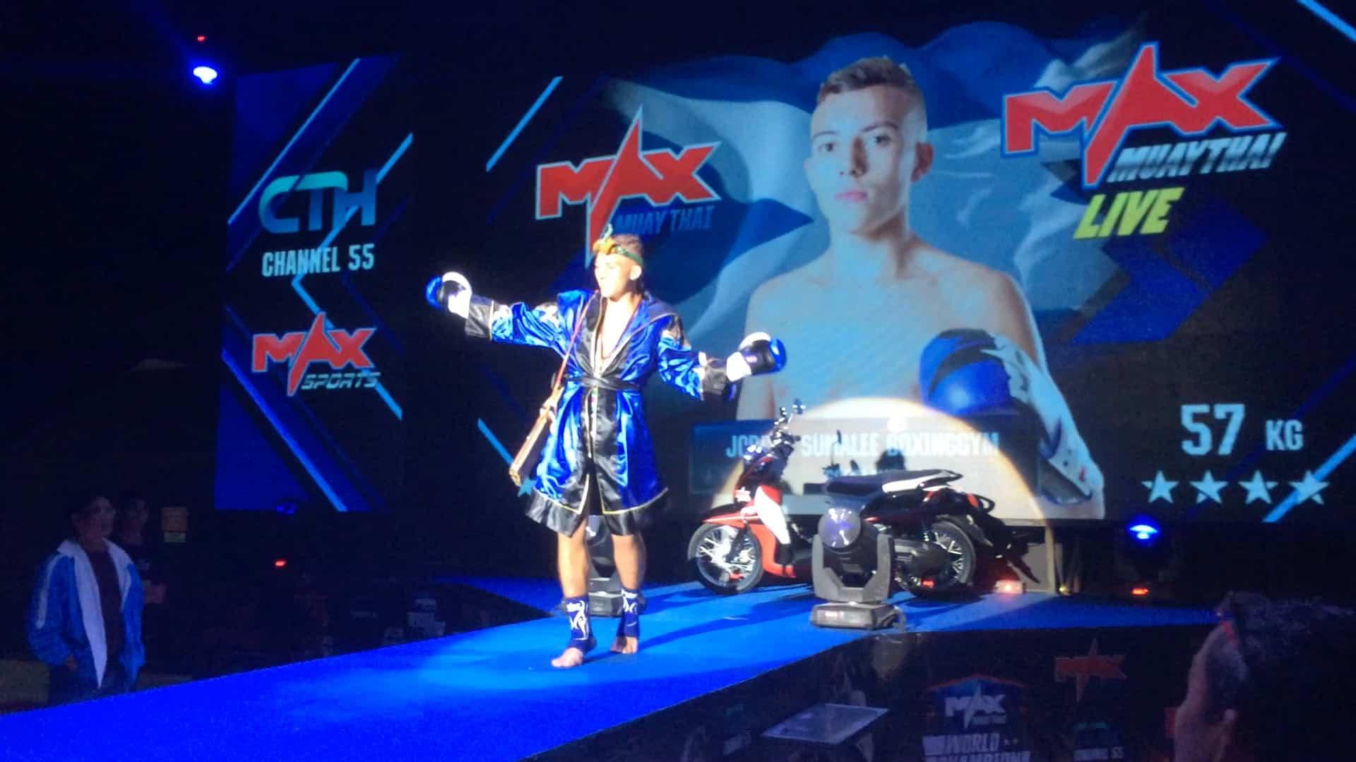 Fight Results: 14th December 2014 at Max Muay Thai, Pattaya