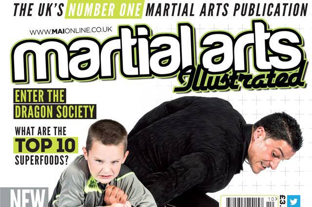 Sumalee featured in Martial Arts Illustrated Magazine