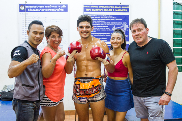 Khru Nat, Kane Worthy and his family