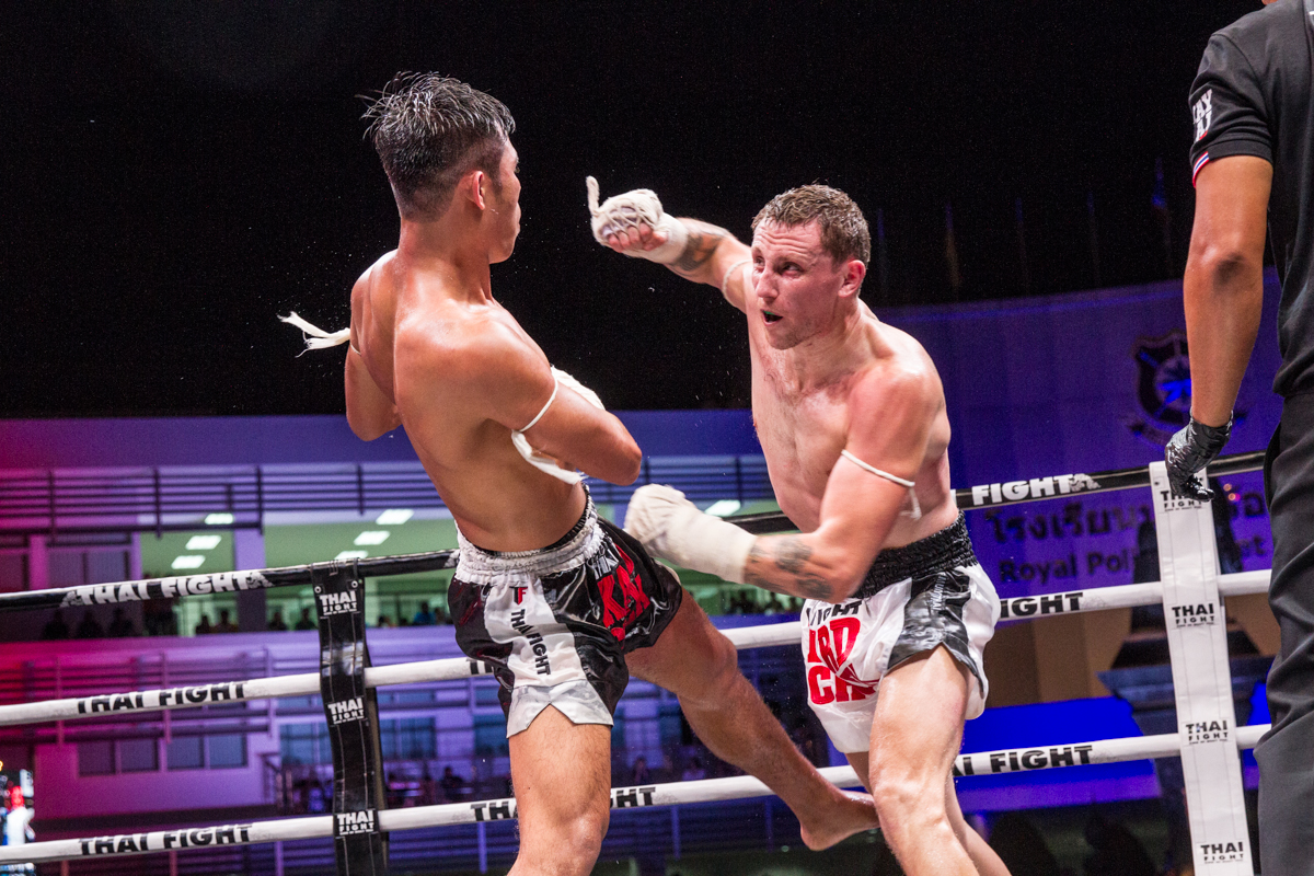WATCH: Martin Avery VS Payak Samui at THAI FIGHT