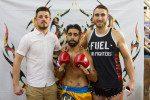 WATCH: Irish fighters Cian Hogan & Matin fight at Bangla Boxing Stadium