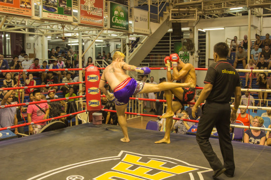 Liam McKendry vs Yan from AKA Thailand