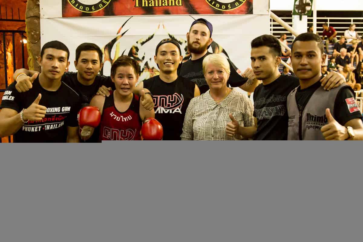 WATCH: Silvia Sumalee vs Baitong Keawpitak