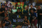 Sumalee Boxing Gym Group Photo At The Muay Thai Fight