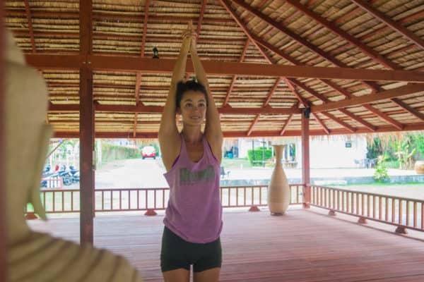 Nikki Carter- Yoga Mountain Pose
