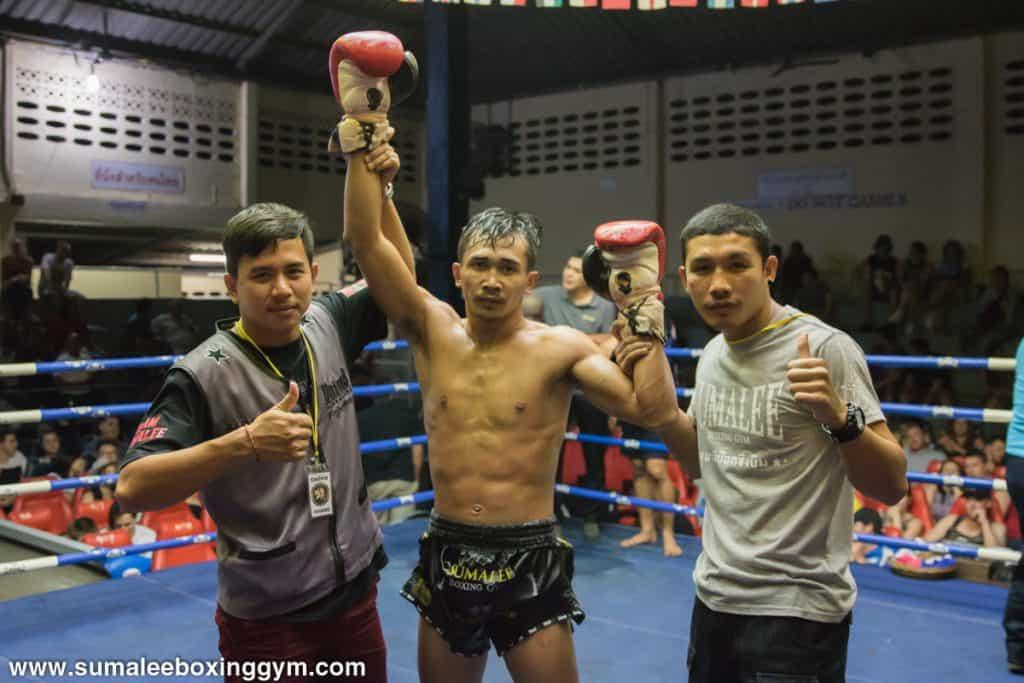 Phunkorn at Patong Boxing Stadium - Declared Winner