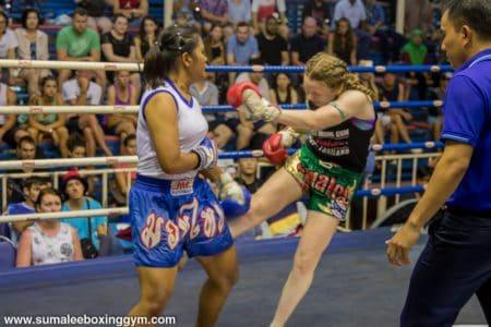Rhona Walker - Leg Kick