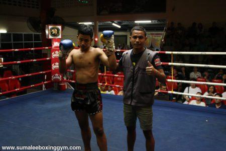 Jet and Bank at Patong Boxing Stadium