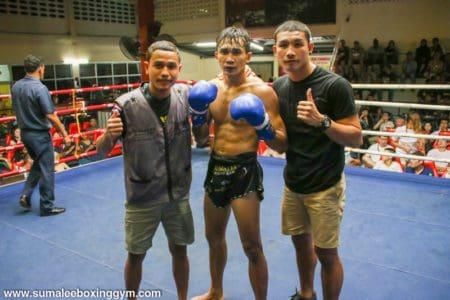 Khru Max the winner at Patong Boxing Stadium