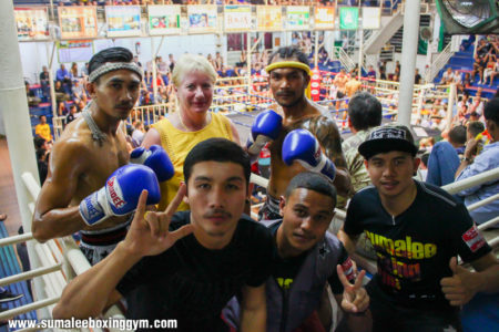 Kengkla Sor Kamsing and Phunkorn Pre-Fight
