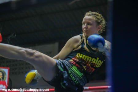 Rhona Walker - Right Kick
