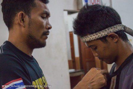Jamesak pre-fight