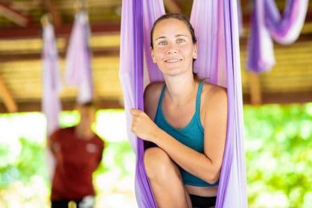 Aerial Yoga in Phuket | Sumalee Boxing Gym
